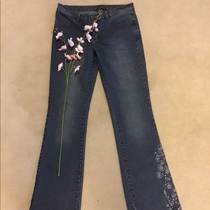 Nevada Jeans Size 9/10 Embellished Leg and Rear